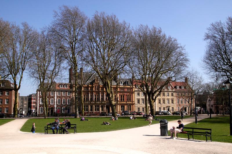 Queen Square Bristol