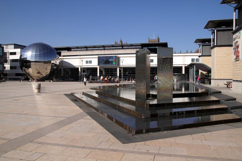 Millenium Square and At Bristol Science Centre Bristol
