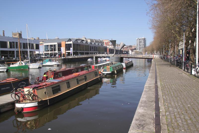 St Augustine's Reach and Pero Bridge Bristol