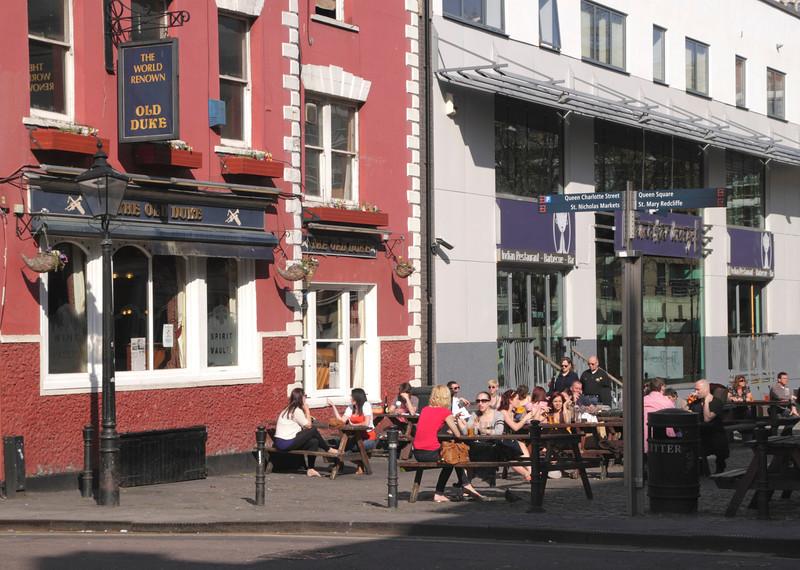 The Old Duke Pub King Street Bristol