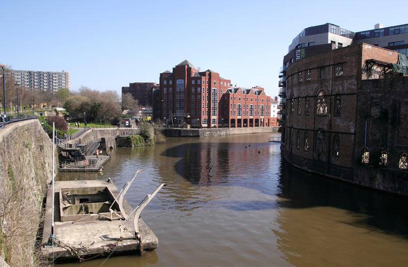 River Avon by Castle Park Bristol