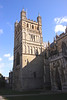 Tower of Exeter Cathedral Devon England