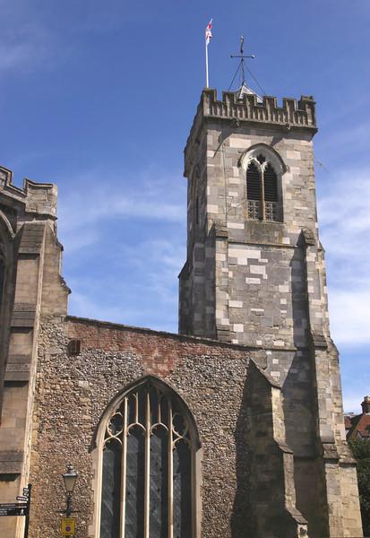 St Thomas and St Edmunds Church Salisbury Wiltshire