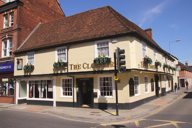 The Cloisters Pub Salisbury Wiltshire