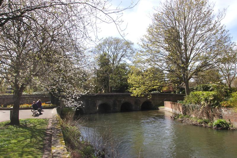 River Avon Salisbury Wiltshire England