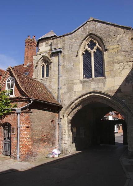 St Ann's Gate Salisbury Wiltshire