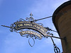The Kings Head Inn pub sign Salisbury Wiltshire