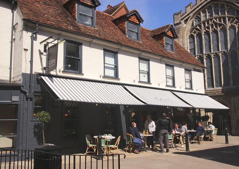 Cote Brasserie French Restaurant Salisbury Wiltshire