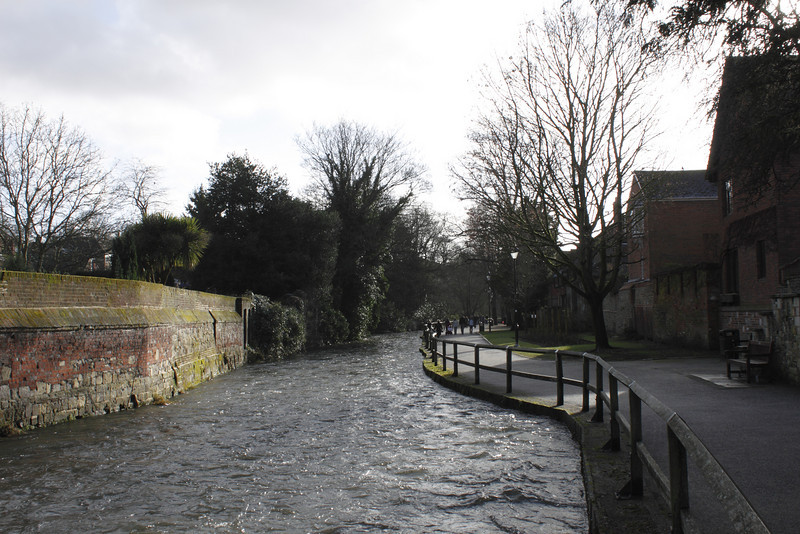 River Itchen Winchester January 2010
