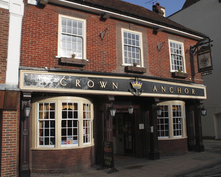 Crown and Anchor Pub Winchester