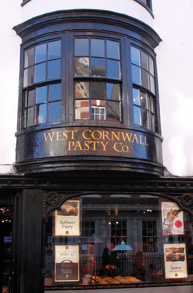 West Cornwall Pasty Co. shop Winchester High Street