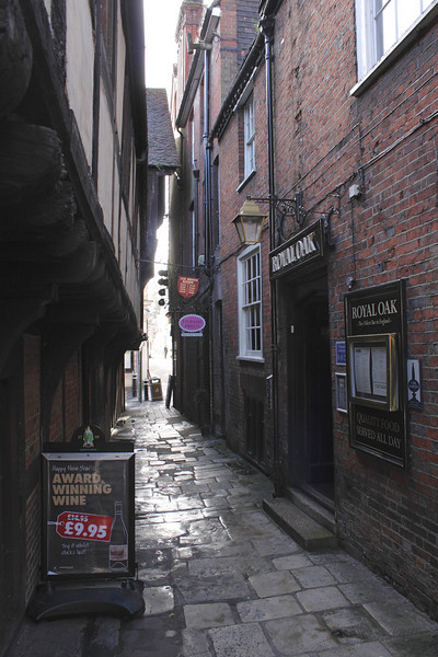 Royal Oak Winchester oldest bar in England