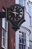 Clock at High Street Winchester