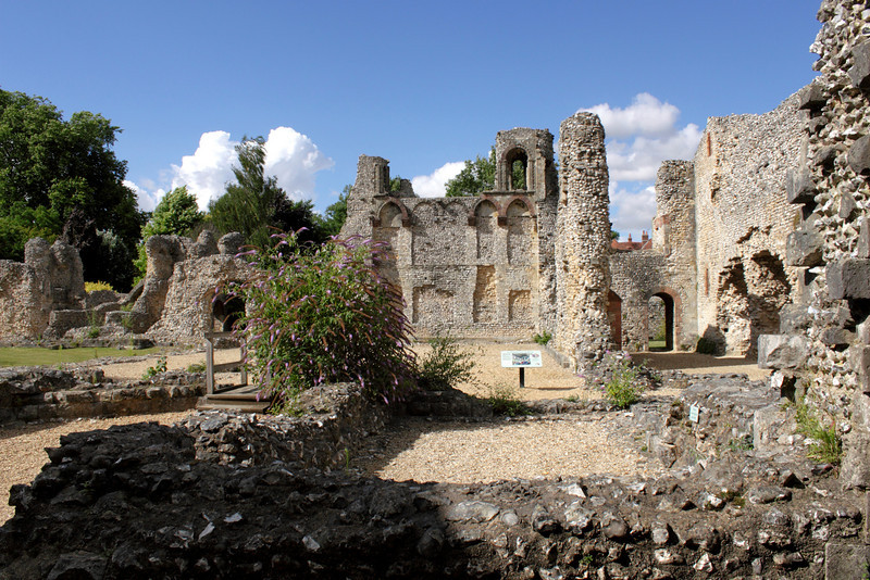 Ruins of Wolvesey Castle Winchester