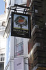 Pub sign for Royal Oak oldest bar in England at Winchester