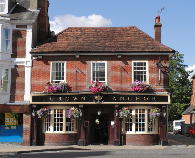 Crown and Anchor Pub High Street Winchester