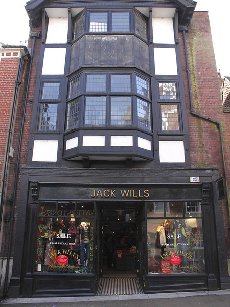 Jack Wills clothes shop High Street Winchester