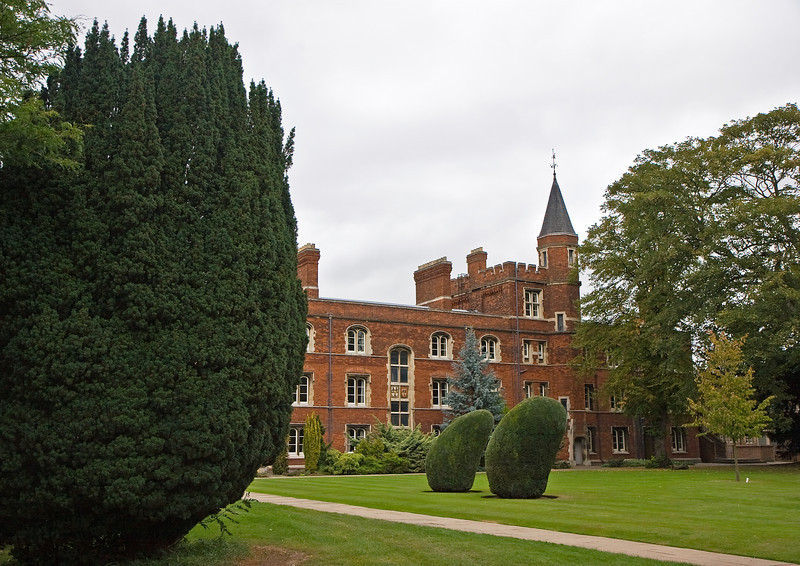 Jesus College, Cambridge, founded in 1496