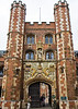 The Great Gate, St John's College, Cambridge, completed in 1516
