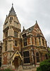 Pembroke College Library - the college founded in 1347, the library in 1879