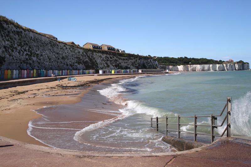 Stone Bay Beach Broadstairs Kent England