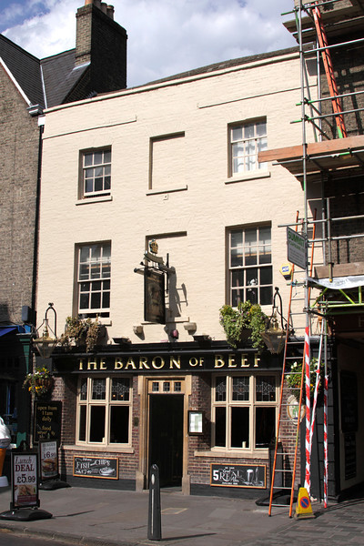 The Baron of Beef Pub Bridge Street Cambridge