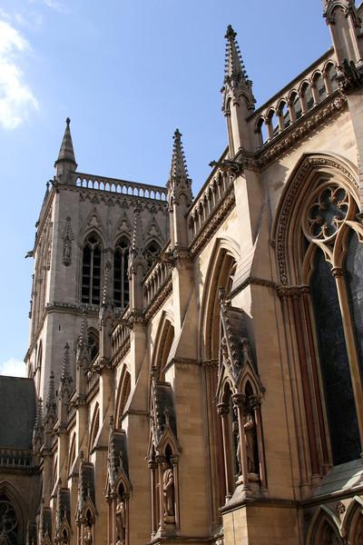 St John's College chapel Cambridge