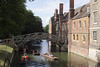 Mathematical Bridge and punts Cambridge