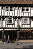 Tudor style timber framed house on Bridge Street Cambridge