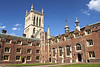 First Court and Chapel of St Johns College Cambridge