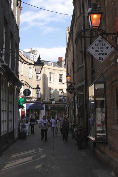 Boutique shops in Rose Crescent Cambridge