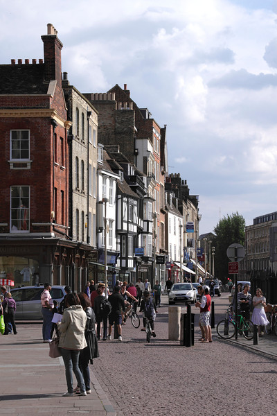 Kings Parade Cambridge