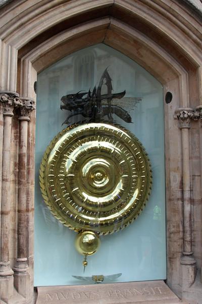 The Grasshopper Clock Corpus Christi College Cambridge
