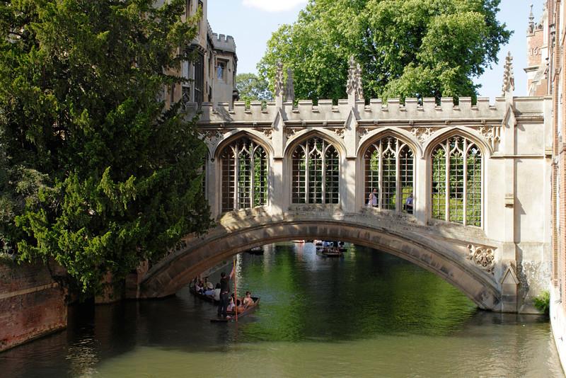 Bridge of Sighs at St John's College Cambridge