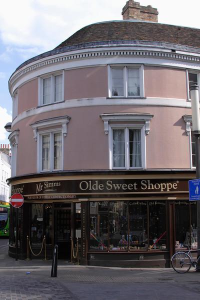 Mr Simms Olde Sweet Shoppe St John's Street Cambridge