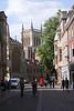 St John's Street Cambridge towards St John's College chapel