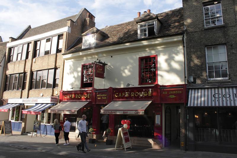 Cafe Rouge Bridge Street Cambridge