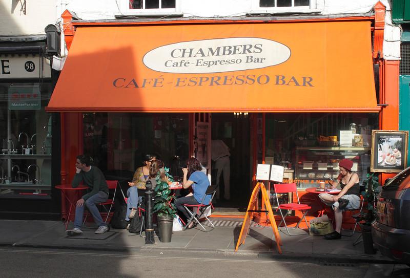 Chambers Cafe Espresso Bar Palace Street Canterbury Kent