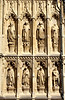 Detail near entrance to Canterbury Cathedral