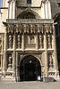 Entrance gate Canterbury Cathedral Kent