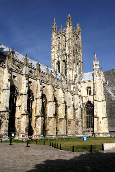 Canterbury Cathedral and Bell Harry Tower
