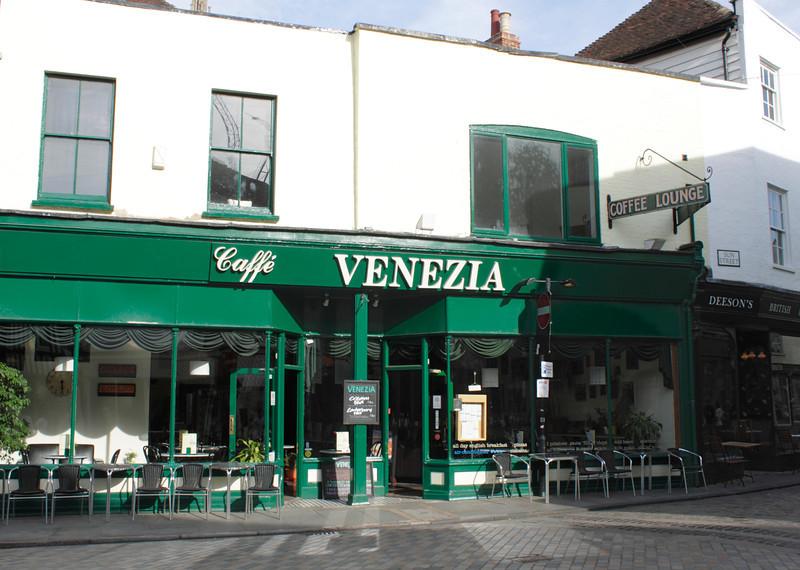 Caffe Venezia Palace Street Canterbury Kent