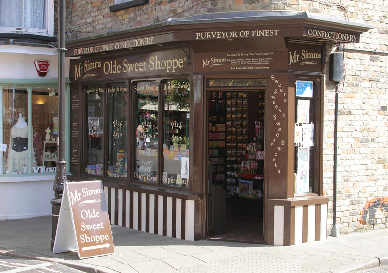 Mr Simms Olde Sweet Shoppe in old town Margate Kent