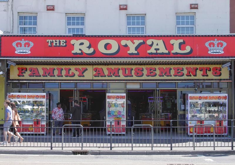 Royal Family Amusements at seafront Margate Kent