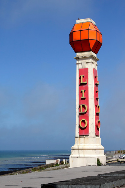 Lido tower at Margate Kent