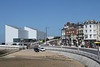 Turner contemporary art gallery at seafront Margate Kent