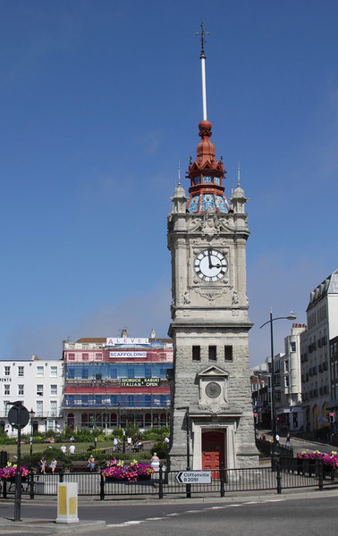 Seafront Clock Tower at Margate Kent