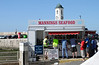Mannings Seafood Kiosk at Margate Kent summer 2013