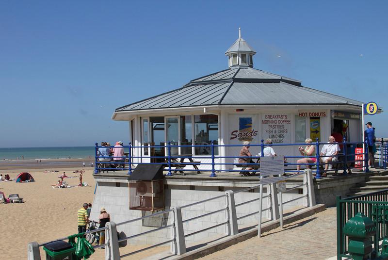 Sands Bar at Margate Seafront Kent