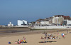 Main Sands beach at Margate Kent summer 2013